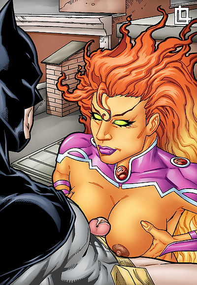 Leandro- Batman and Starfire..
