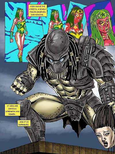 Wonder Woman vs Predator