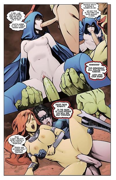 Superheroes After Dark..