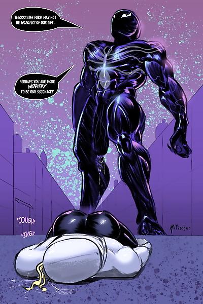 Meinfischer – Venom's Kiss Spider-Man