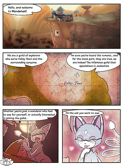 Wanderlust Introductory Comic