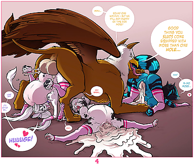 A Gryphon Breeding Tale