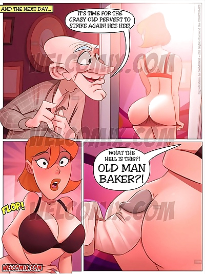 Naughty Home 33- Old Man..